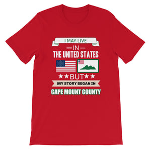 Cape Mount Is Where My Story Began T-Shirt - Zabba Designs African Clothing Store