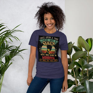 Liberian Chick Short-Sleeve Unisex T-Shirt - Zabba Designs African Clothing Store