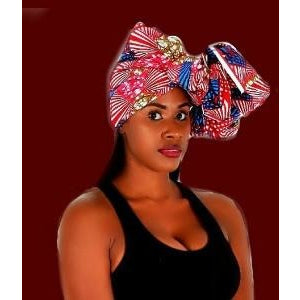 The SPICY Head Wrap - Zabba Designs African Clothing Store