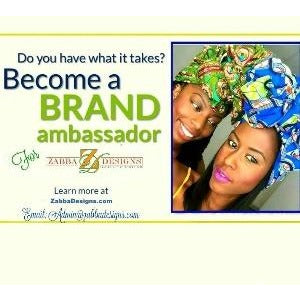 Want to be Brand Ambassador - Zabba Designs African Clothing Store