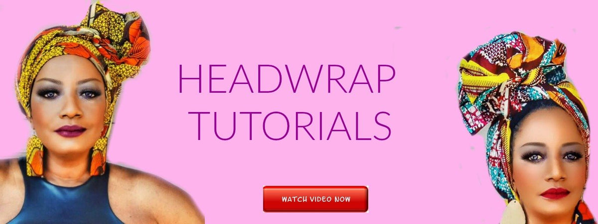 AFRICAN HEADWRAP VIDEO