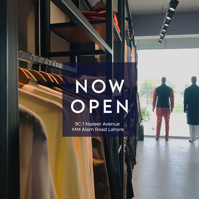 Nauroz Launches Men's Clothing Store in Lahore