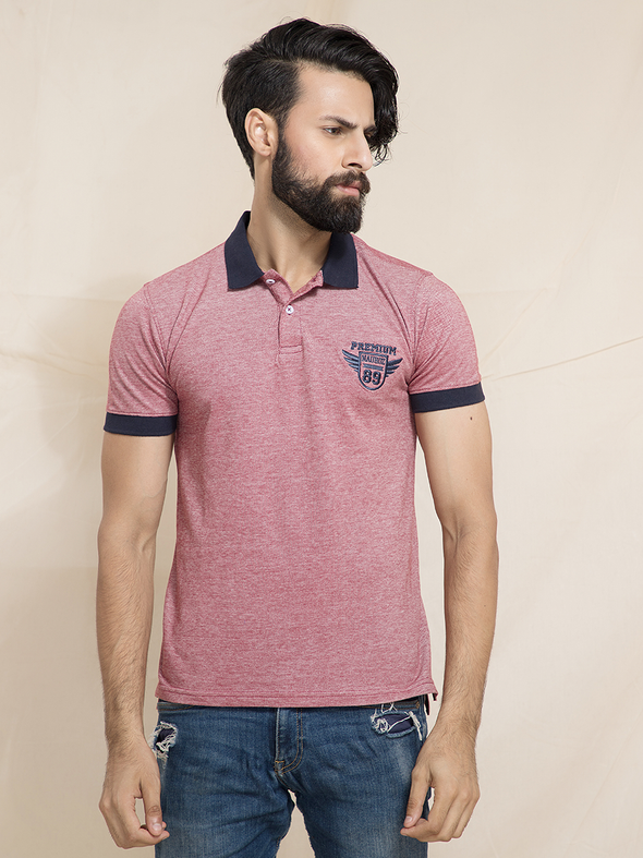 pink polo men t shirts