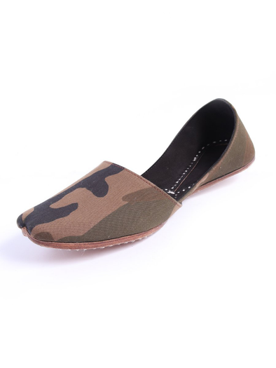 camouflage handmade khusa for men