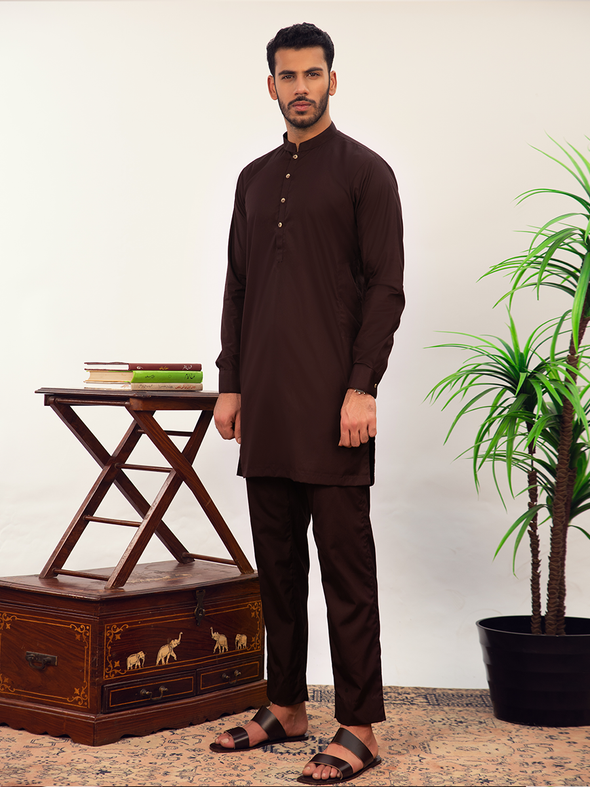 crimson men's kurta trouser