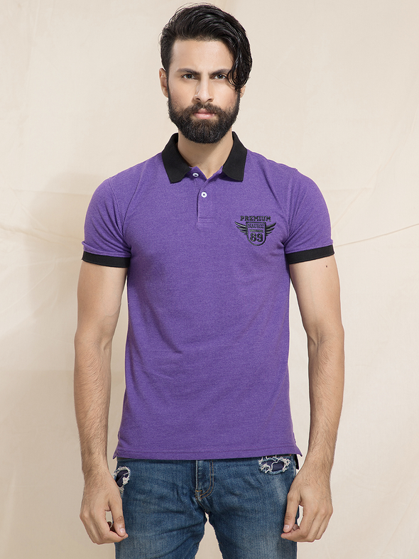 purple polo men t shirts