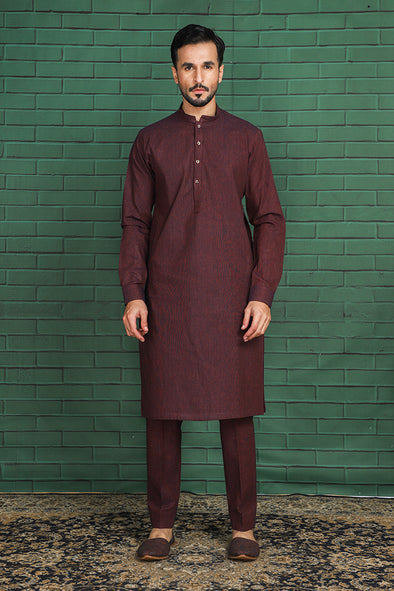 Twin-tone Khaddar Suit