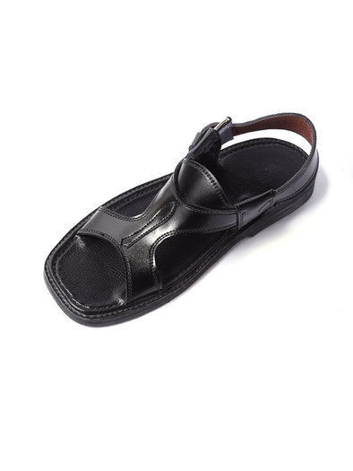 black kohati handmade shoe for men