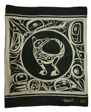 Bill Helin Printed Velura Throw