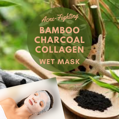 Facial Masks for Sale | Bamboo Charcoal Collagen Wet Mask