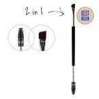 Dual Ended EyeBrow Brush by Bombshell