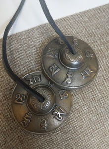 Tingsha Bells - Cymbals in Antique design