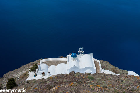 Another side to Santorini