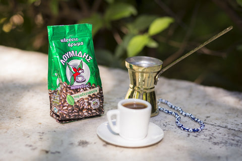Papagalos Loumidis Greek Coffee