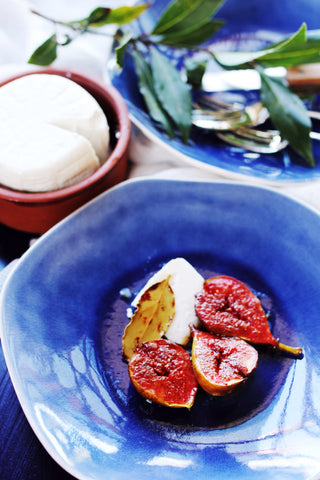 Recipe: Figs roasted with Bay Leaves, spices and Petimezi