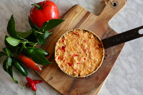 Recipe: Baked Feta and Chilli Dip