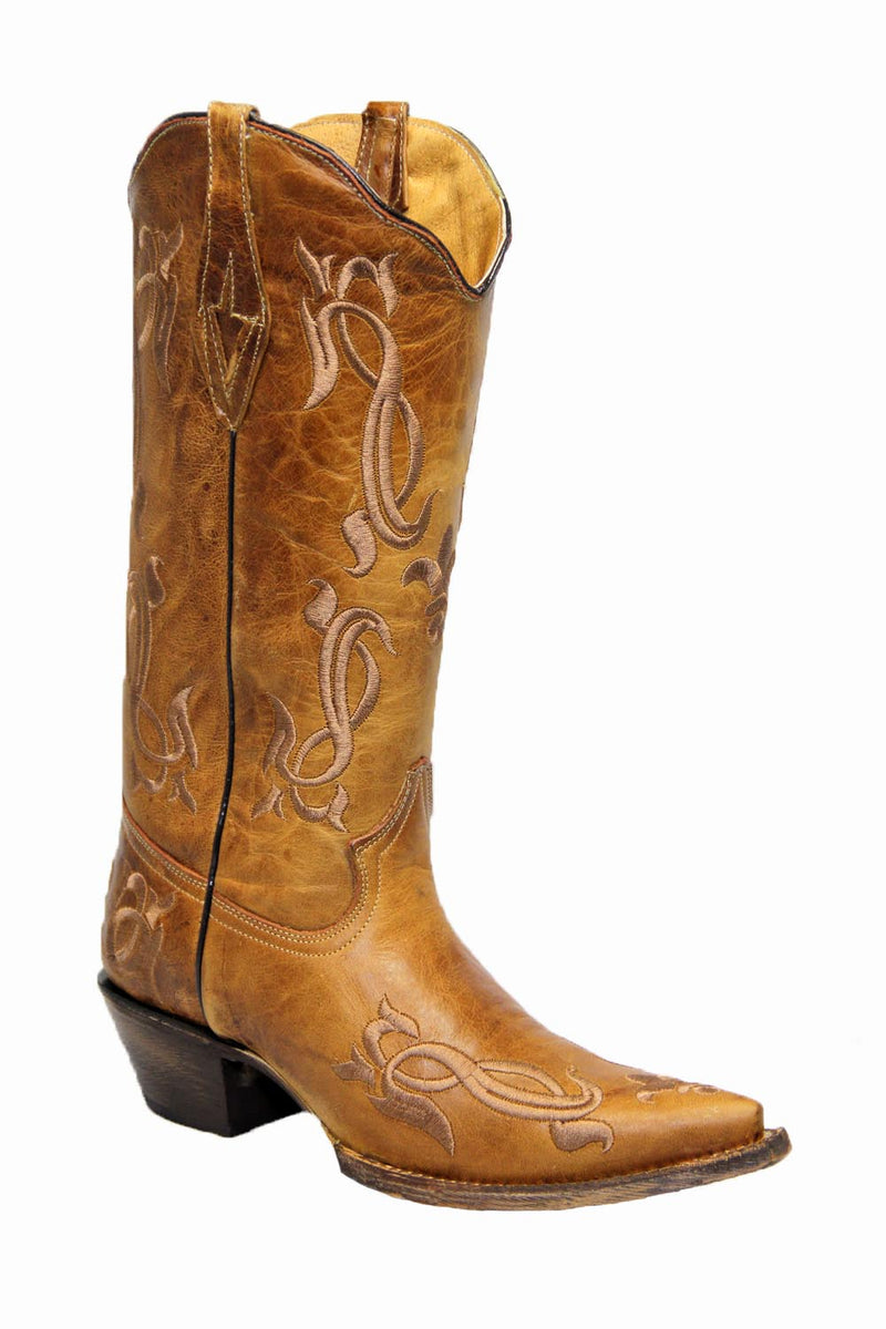 Tanner Mark Brown Boots