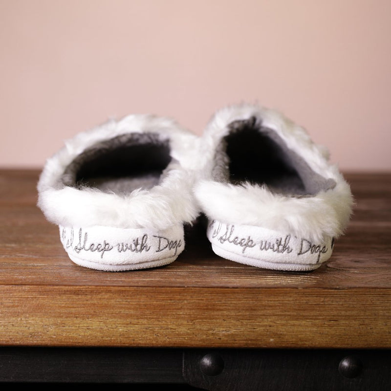 I Sleep With Dogs-Classic Slippers