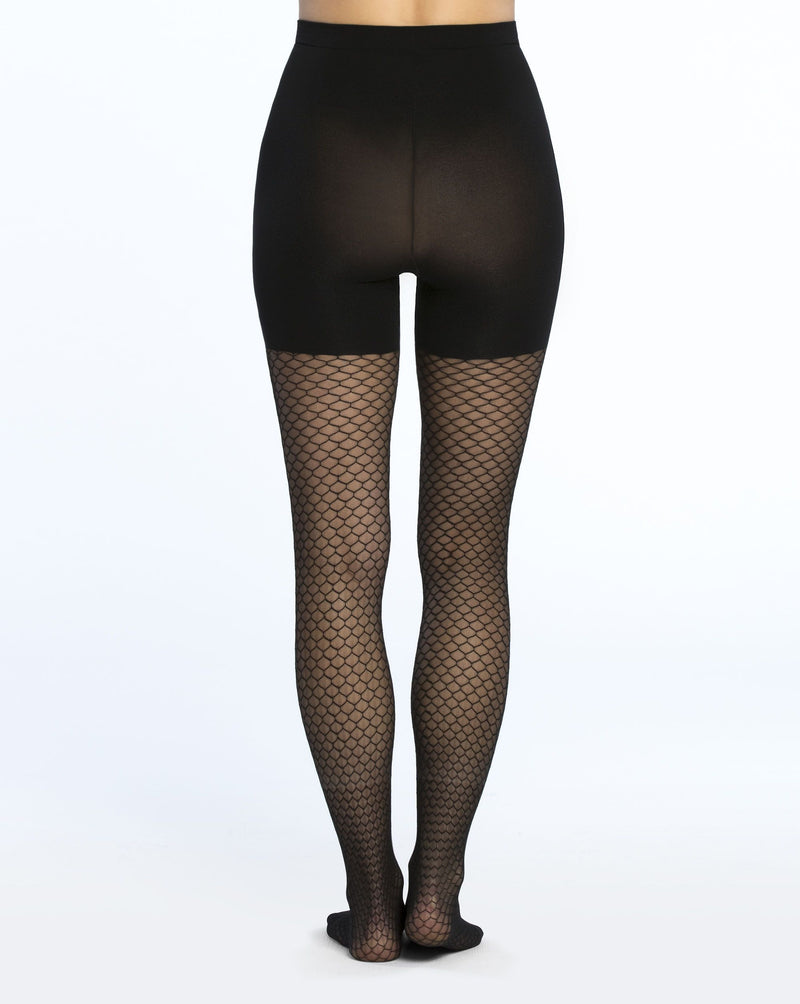 SPANX Honeycomb Fishnet Tights