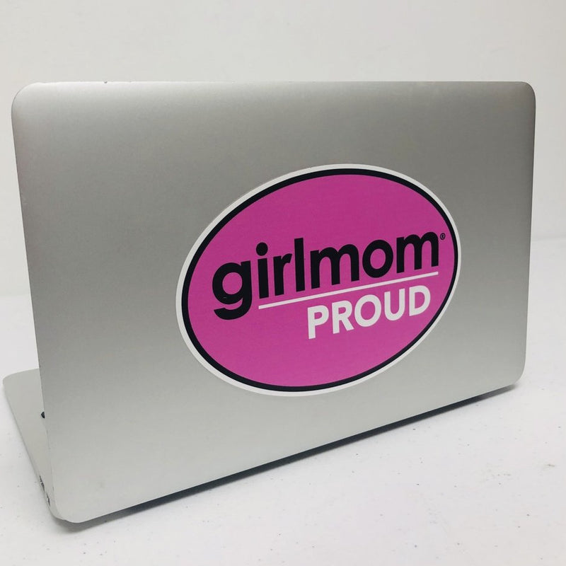 Girl Mom Proud Removable Decal