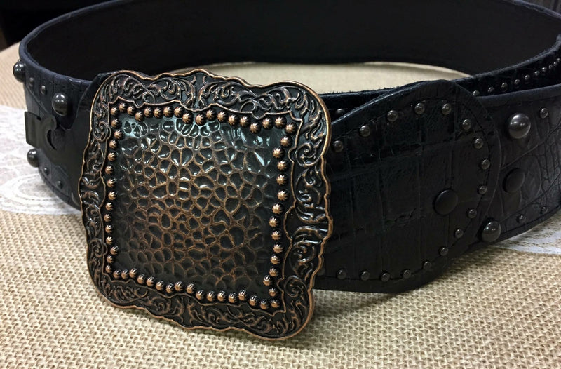 Rustic Tailgator with Copper Belt
