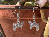 Livestock Show French Wire Earrings