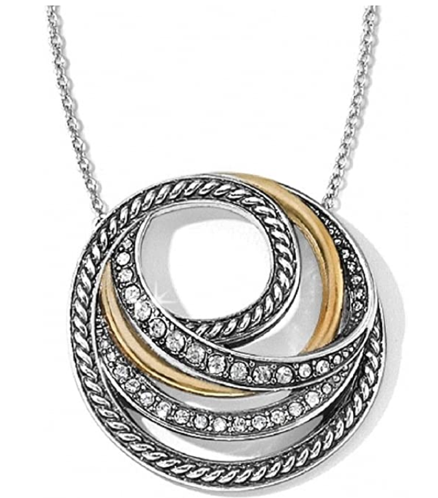 Brighton Neptune Rings Short Necklace