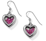 Brighton Pure Love Pink Heart Earrings