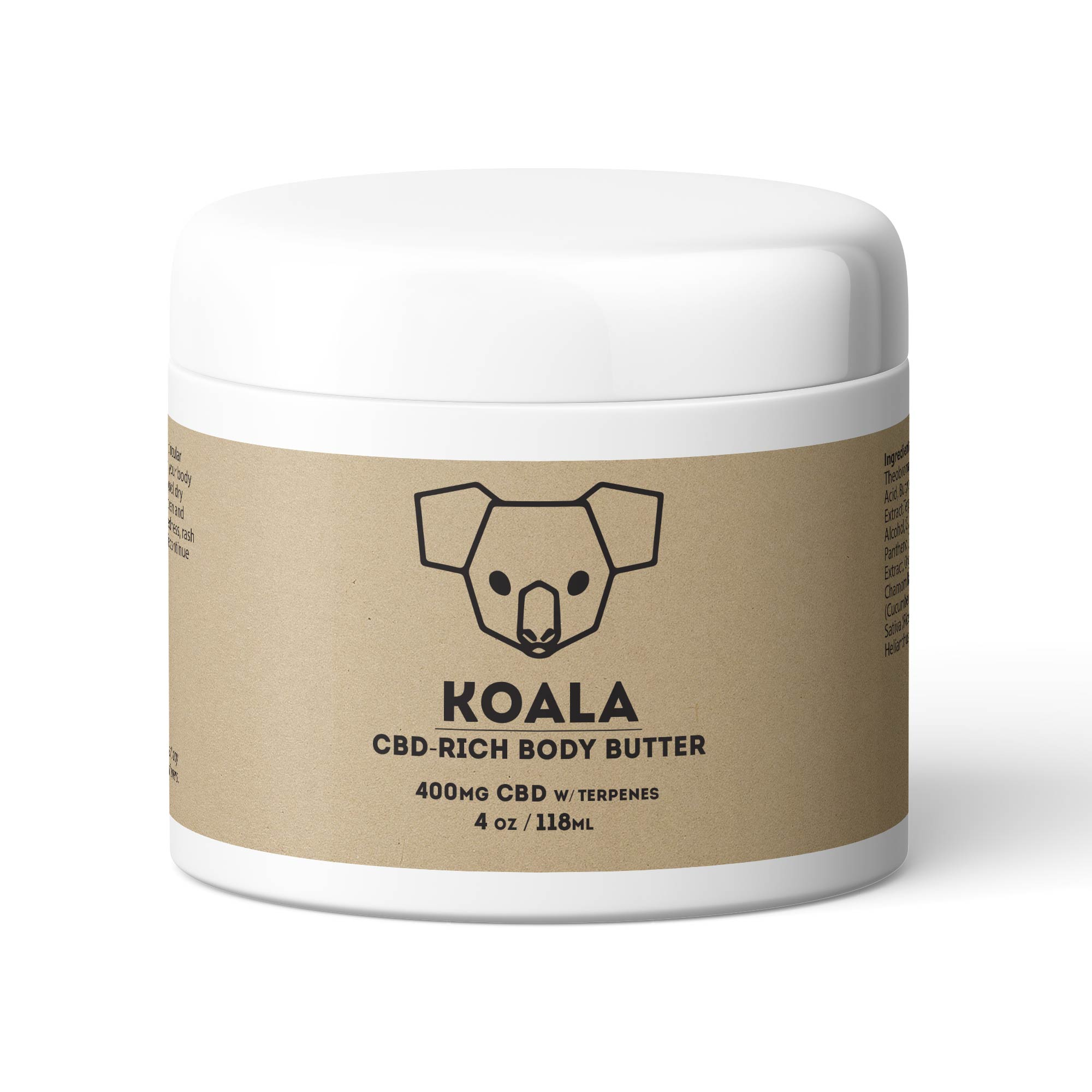 CBD-Rich Body Butter