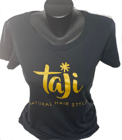 Black Taji Natural Hair Styling T-Shirt