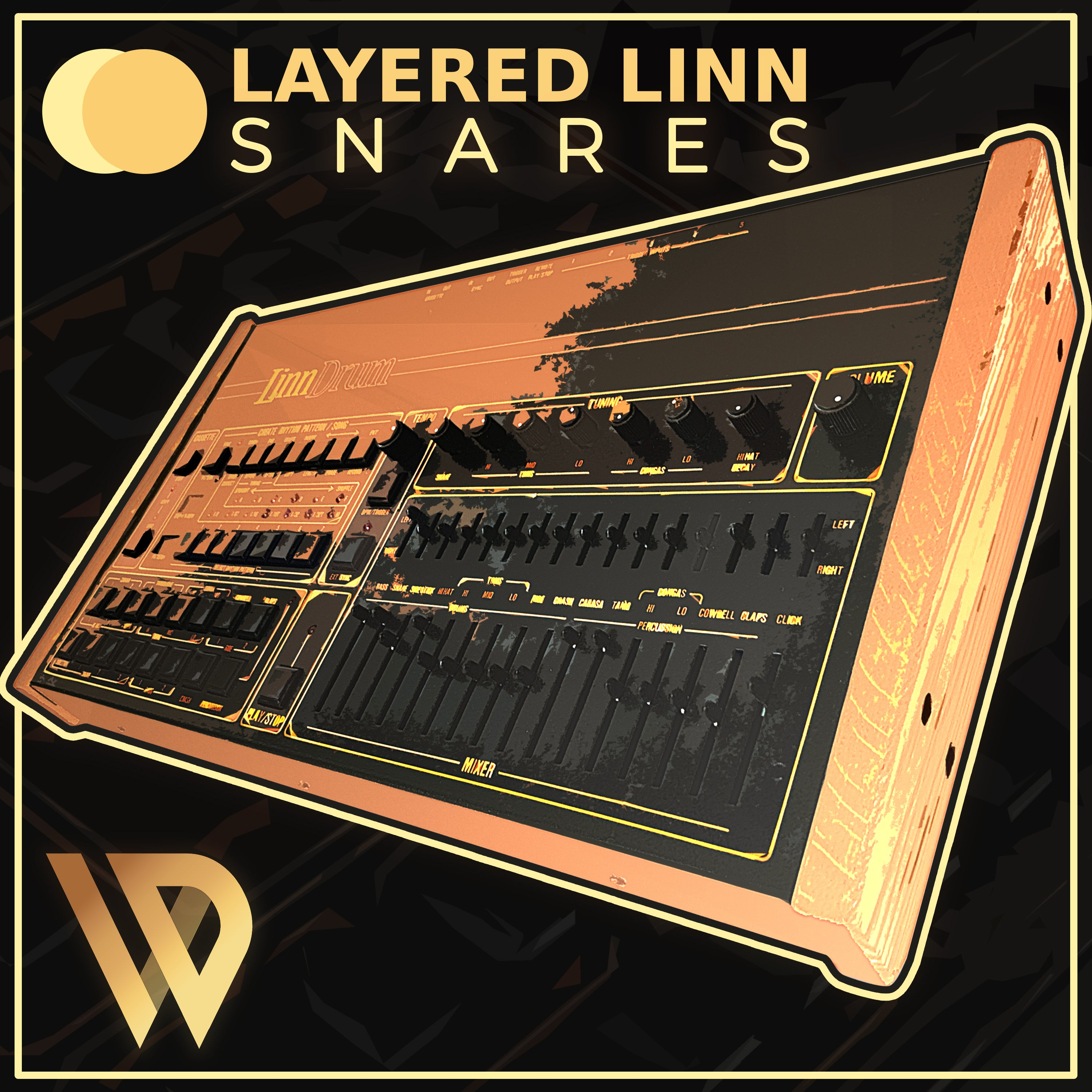 linndrum snare sample one-shots