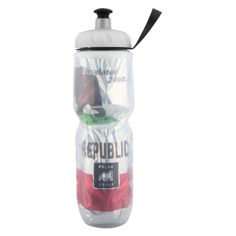 Polar Bottle  -  24 OZ CA FLAG INSULATED BOTTLE