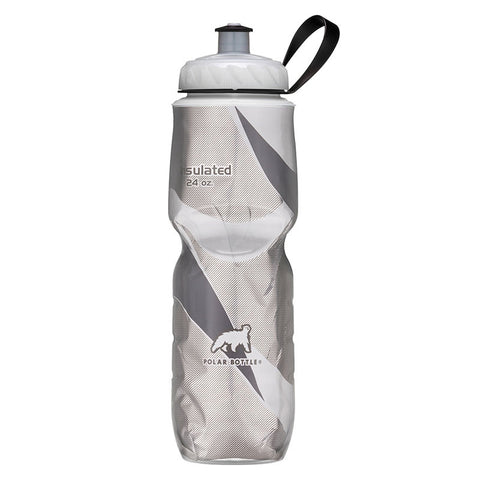 Polar Bottle  -  24 OZ BLACK PATTERN INSULATED BOTTLE