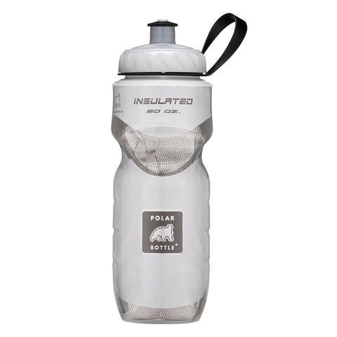 Polar Bottle  -  20 OZ WHITE INSULATED BOTTLE