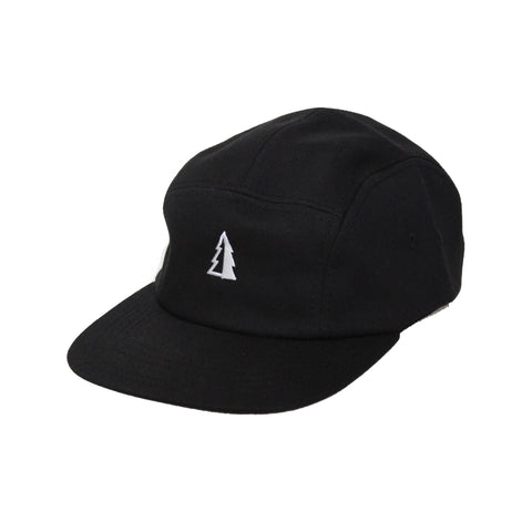 Motion  -  BLACK 5-PANEL TREE LOGO HAT