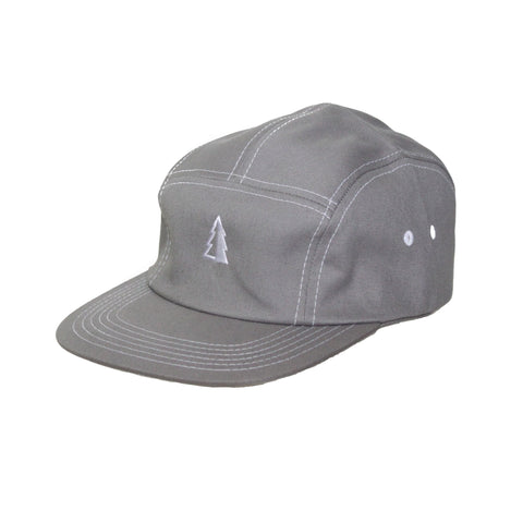 Motion  -  GREY 5-PANEL TREE LOGO HAT