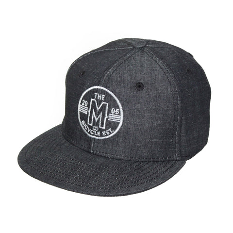 Motion  -  DARK GREY CIRCLE LOGO HAT