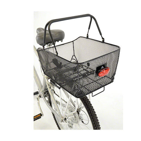 Axiom  -  MARKET LX REAR BASKET: BLACK MESH