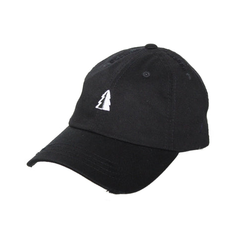 Motion  -  BLACK UNSTRUCTURED TREE LOGO HAT