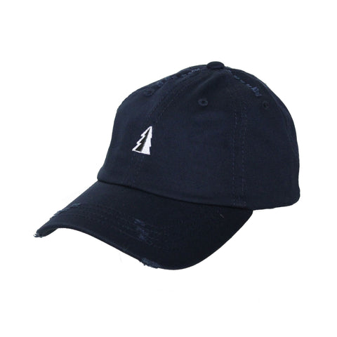 Motion  -  NAVY UNSTRUCTURED TREE LOGO HAT