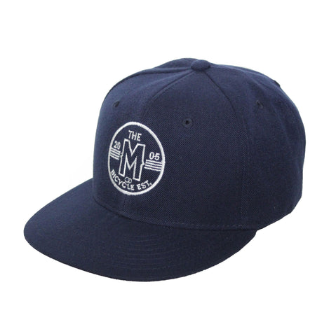 Motion  -  NAVY CIRCLE LOGO HAT