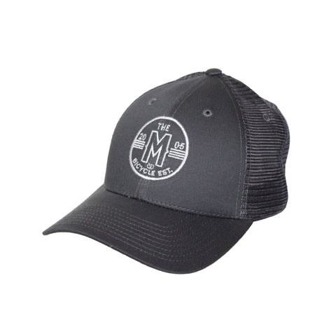 Motion  -  GREY MESH CICRCLE LOGO HAT