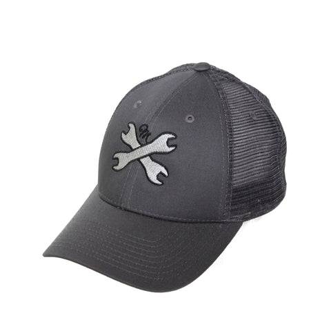 Motion  -  GREY MESH WRENCHES HAT