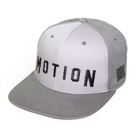 Motion  -  TWO-TONE GREY LOGO HAT
