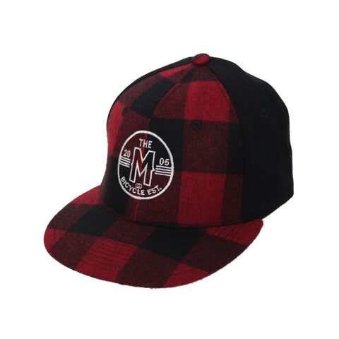 Motion  -  RED LUMBER JACK HAT
