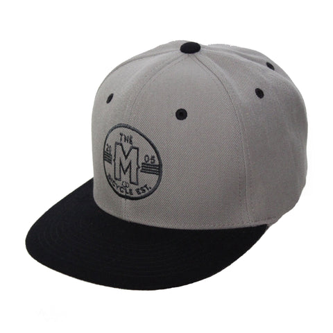Motion  -  GREY/BLACK CIRCLE LOGO HAT