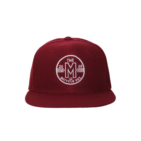 Motion  -  MAROON CICRCLE LOGO HAT