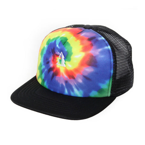 Motion  -  TIE-DYE TRUCKER TREE HAT