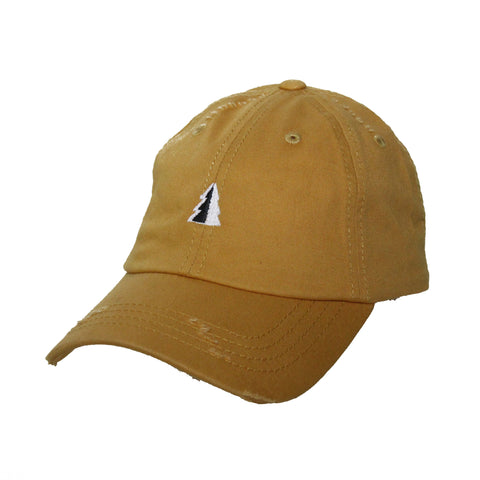 Motion  -  MUSTARD UNSTRUCTURED TREE LOGO HAT