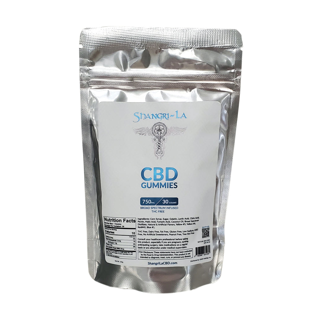 750 MG CBD Gummies